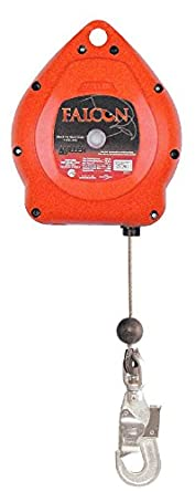 Honeywell 1012434 Falcon Self-Retracting Lifeline 10M Galvanized Steel Spring Fall Indicator