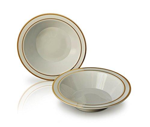 plastic bowls and plates set - 8