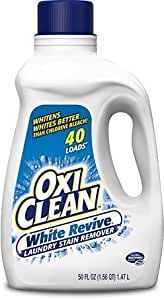 Amazon Com Oxiclean White Revive Laundry Stain Remover