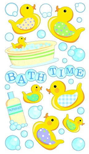 Bath Lighthouses (Darice EK52-00126 Bath Time Sticko Stickers)