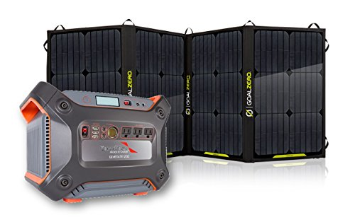 Complete-Solar-System-Enerplex-1230-watt-Solar-Generator-Together-With-Goal-Zeros-100-Watt-Foldable-Solar-Panel