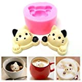 Upchuck Chief Mildew - Silicone Cute Cat Head Shape Cake Mold Mould Fondant Decoration Tool - Throw Top Dog True OralStrait Computerized Axial Tomography Fountainhead