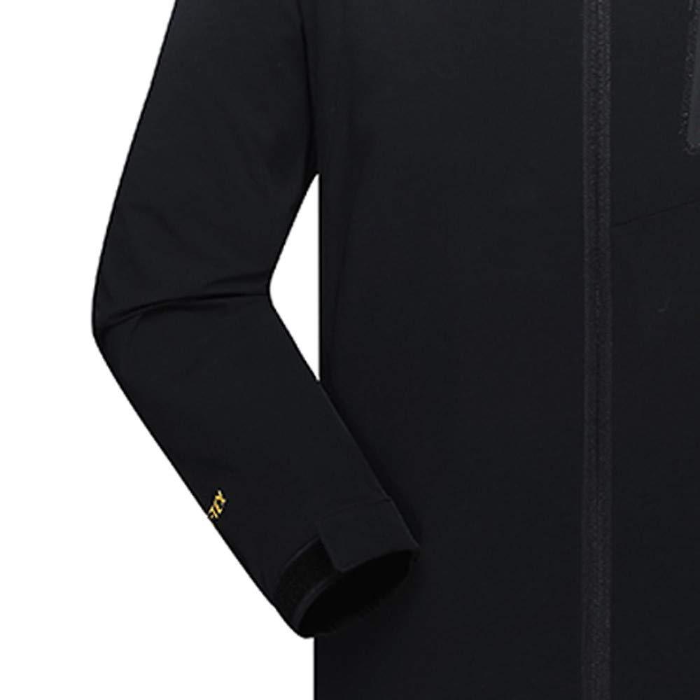 Pandaie-Mens Product Hoodies for Men Zipper.Mens Autumn Winter Four Side Elastic Waterproof Sport Outdoor Assault Coat