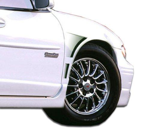 Fenders Concept Gt Duraflex (1997-2003 Pontiac Grand Prix Duraflex GT Concept Fenders - 2 Piece)