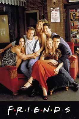 Friends - TV Poster: Sitting On Couch