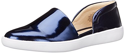 M Flat 5 UK 7 Ballet EU M 40 Nine Navy B B West Women'S Synthetic Laguna wAczHqX