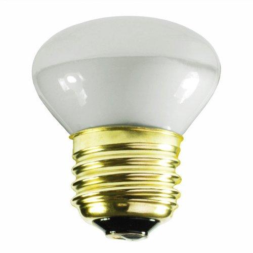 25 Watt - R14 Short Neck - Reflector Flood - 120 Volt - Medium/Standard Base - Incandescent Light Bulb - Bulbrite200025 ()