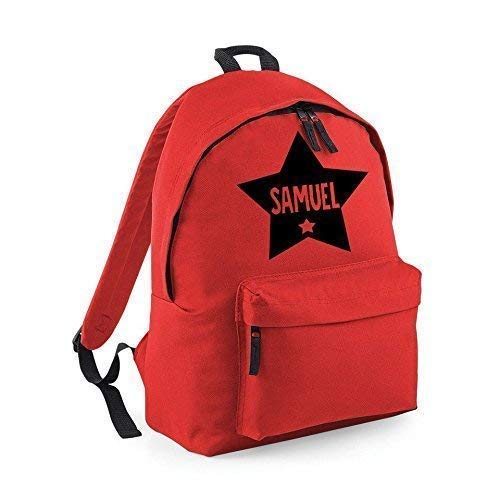 f67a5761b650 Personalised Star Name Backpack Rucksack School bags Boys Personalised Bags  Girls Bags  Amazon.co.uk  Handmade