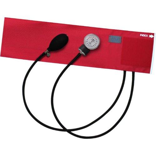 FOCAL アネロイド血圧計 FC-100V ナイロンカフ レッド【5個セット】   B00D1QT5X8