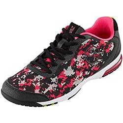 Zumba Women's Impact Pulse Dance Shoe, Pink/Black, 5.5 M US