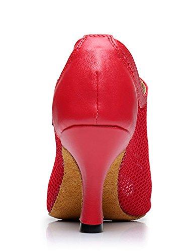 de Red 5cm MGM Mujer Sintético Punta 7 Abierta Joymod qcxxCzRgwH