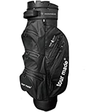 tour-made Waterproof Wasserdicht WP14 V2 Organizer Trolleybag Cart Bag Golftasche Golfbag Modell 2019