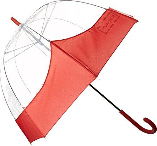 Hunter Women's Original Moustache Bubble Military Red Umbrella by Hunter