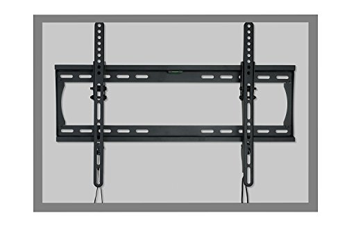 Atlantic Tilting TV Wall Mount – Tilting Wall Mount for Flat Screen TVs from 32″ to 72″ with 6′ High-Speed HDMI Cable, Cable Ties and Leveler PN63607226