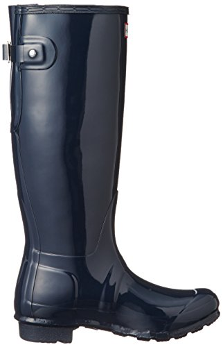 marrón Botas Mujer para Back Adjustable Hunter Original Gloss Back para 910746