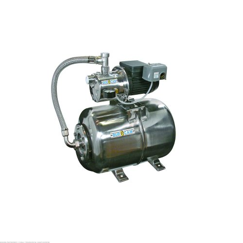 3/4Hp Stainless Steel Jet Pump With 6.5 Gal Stainless Steel Tank Package 506547SS