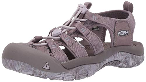 KEEN Women's Newport H2 Water Shoe, Shark/Swirl Outsole, 8 M US