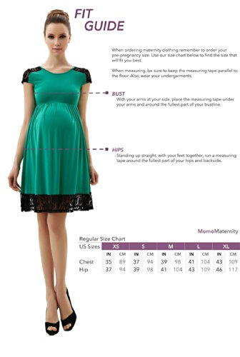 Momo Maternity Contrast Pleated Dress at Amazon Women's Clothing ...