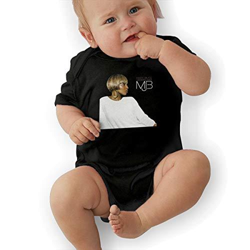 JosephG Newborn Baby Mary J Blige Growing Pains Romper Bodysuit Outfits Black 2T -