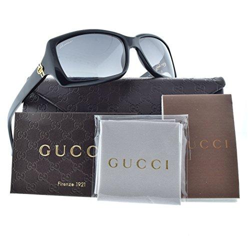 Gucci GG3590/S Sunglasses-0807 Black (WJ Gray Polarized - Kids Sunglasses Gucci