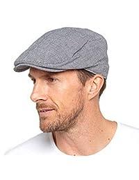Tome Franks Mens Flat Cap Peaked Cotton Vintage Summer