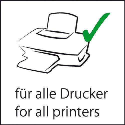 20 Blatt Qualit/ätspapier Farbpapier Kopierpapier A4 ROSA 160g//qm Coloraction