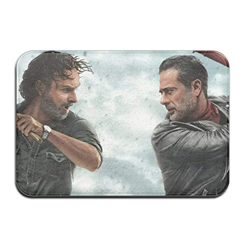 Qmad The Walking Dead Season 8 Non-Slip Thick Floor Mat for Laundry -  Qmad Co.Ltd, QMA-Doormat-72253888-White-48