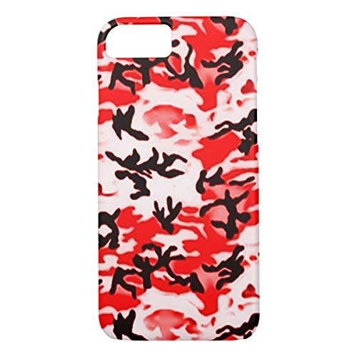 hot sale online 03116 709c3 Amazon.com: Psychedelic Red Camo iPhone 7/8 iPhone 7s/8s iPhone X ...