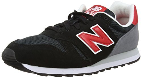 black New Ml Balance Red Basses Wl373v1 Baskets Homme Grey Noir g60Zfq6xw