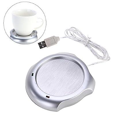 OUNONA Beverage Warmers USB Cup Warmer Mug Desktop Heated Coffee Tea Cups Use