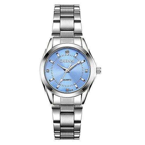 Women Watches Casual Fashion Waterproof Watches Diamond Rhinestone Wrist Quartz Watch -...