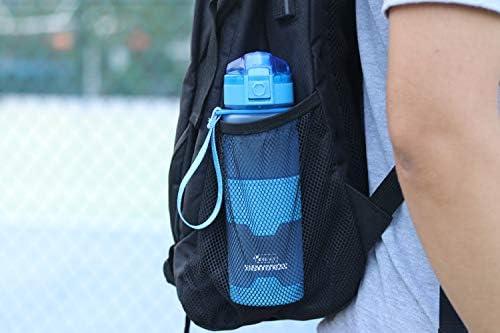 36oz Tritan Drinkware BPA-Free Break-Resistant Leak Proof Seal Large Big Drink Bottles One Click Open Kslong Portable Sport Water Bottle Tour Outdoor Plastic 18o