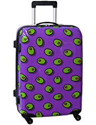 Ed Heck Olives Hardside 25 Inch Spinner, Purple, One Size