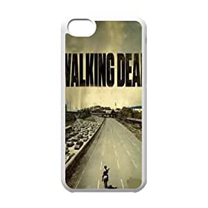 The Walking Dead 001 iPhone 5c Cell Phone Case White custom made pgy007-9983536