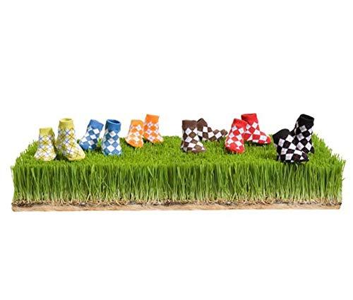 Trumpette Baby Boys' Golf Peewee Socks - 6 Pack - Peewee - 0-12 Months