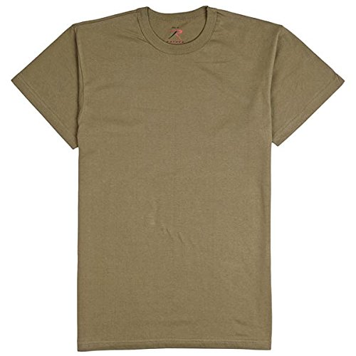 100% Cotton T-shirt, OLIVE DRAB,Medium