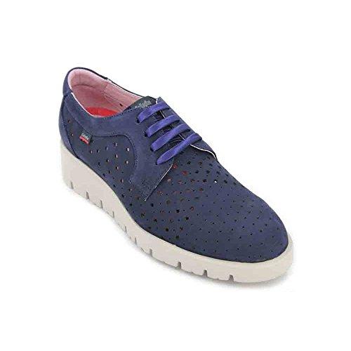 De Zapatos Metal Azul Para Mujer Cordones Callaghan Derby Haman fUHq5wR4C