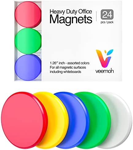 24 piece Veemoh Heavy Office magnets product image