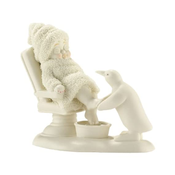 Department 56 Snowbabies Classics Day at the Spa Figurine, 4.5 inch - Hand crafted Hand painted Artist designed - living-room-decor, living-room, home-decor - 41xAt0dXX5L. SS570  -