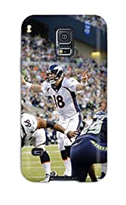 Awesome Seattleeahawks Enverroncos Flip Case With Fashion Design For Galaxy S5