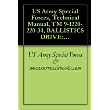 US Army Special Forces, Technical Manual, TM 9-1220-220-34, BALLISTICS DRIVE: M10, M10A1, M10A3, M10A4, M10A5, M10A6, 1985