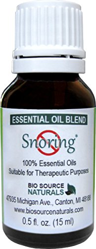 Snoring Essential Blend Aromatherapy Bottle product image