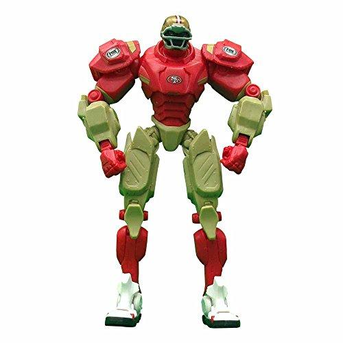 NFL San Francisco 49ers 10-Inch Fox Sports Team Robot