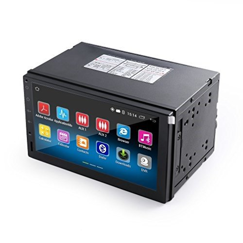 OUTAD Touch Screen Car Stereo with Navigation / Rear View Camera, 2 Din Android 5.1 Car Radio Stereo 7 Inch HD 1024x600 GPS Navigation FM WIFI USB SD Mirror Link