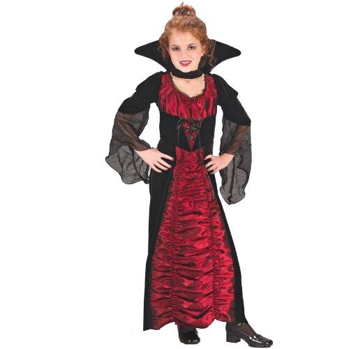 Coffin Vampiress Child Costume - Medium