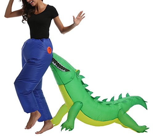 Funny Haloween Costumes - Fanny Sandy FS Adult's Croc Inflatable