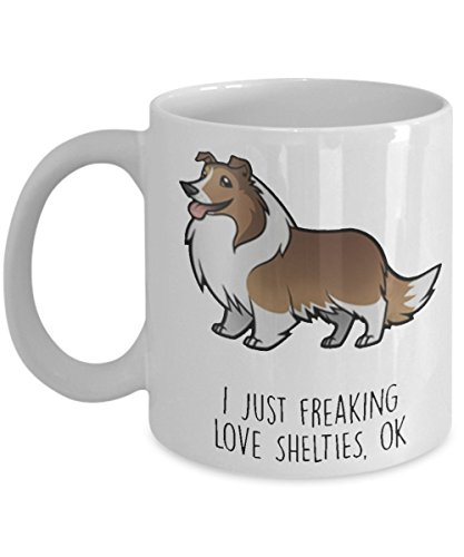 I just freaking love shelties, OK