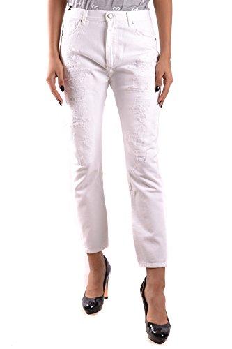 Mcbi302094o Bianco Cotone Twin set Donna Jeans 0wxwUztB