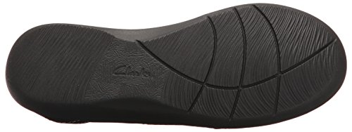 Sillian Stork Clarks Women's Black Loafers H5fv4Uwq