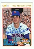 Autograph Warehouse 99089 Jack Dilauro Autographed Baseball Card New York Mets 1994 Spectrum No. 21 Tried In Pen Then Full Sharpie